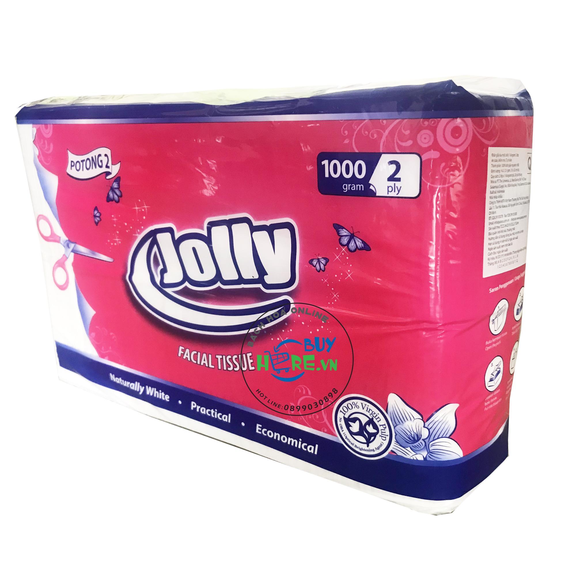 Khăn giấy ăn jolly 1kg 2 lớp