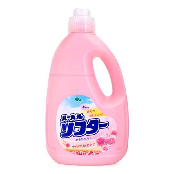 Nước xả làm mềm vải Mitsuei hương hoa hồng 2L