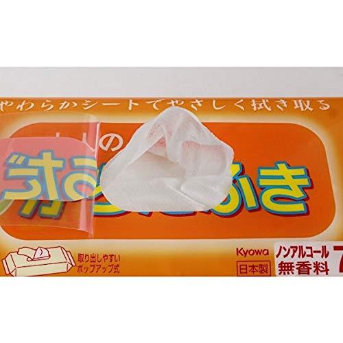 Gói 70 tờ giấy ướt cho người lớn (hương cam)