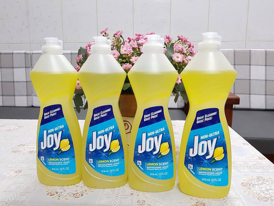 Nước rửa chén Joy Lemon Scent 414ml