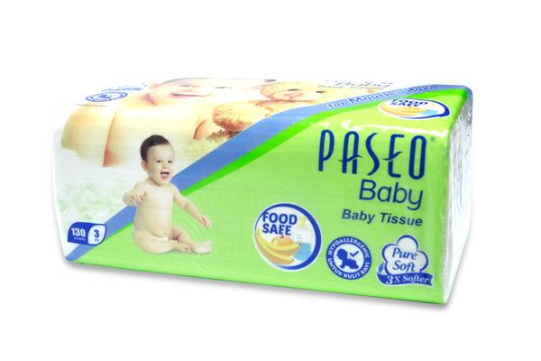 Khăn giấy thếp Paseo Baby 130 tờ