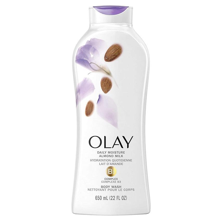 Sữa Tắm Olay Hydrating Clean Almond Milk 650ml
