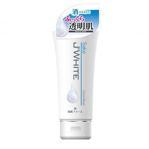 Sữa rửa mặt J'WHITE tinh chất Rượu SaKe (160g)