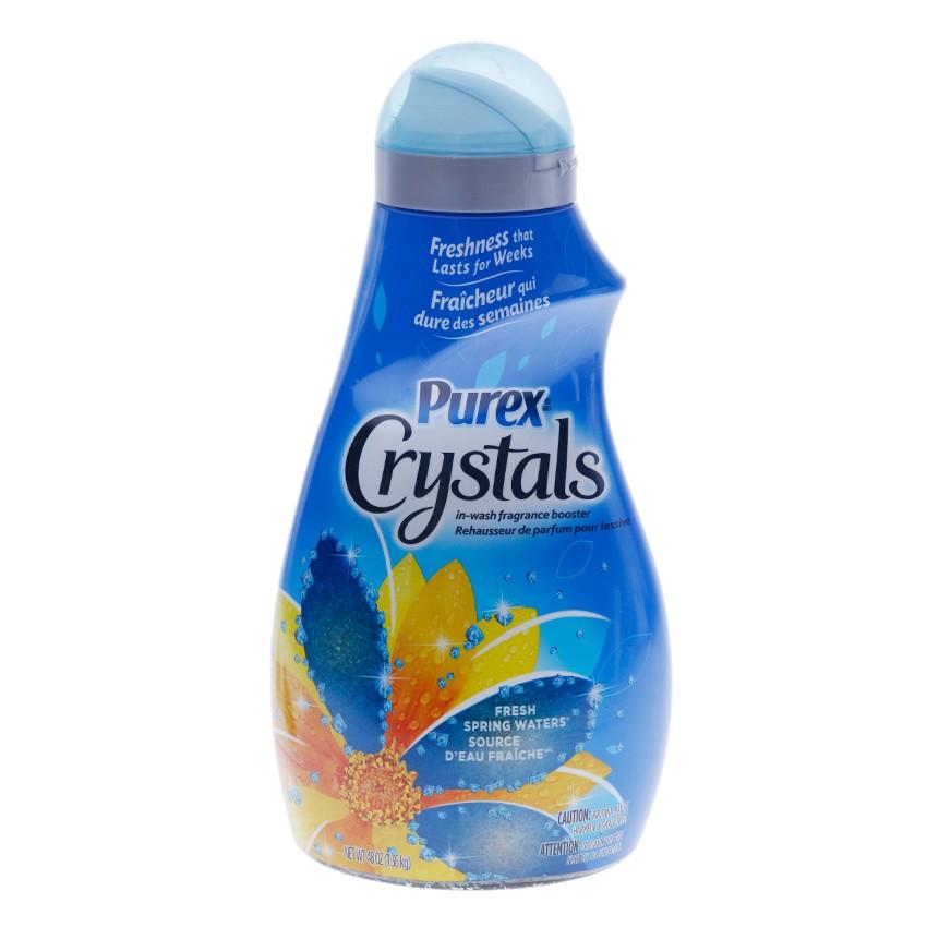 Hạt xả vải Purex Crystal Fresh Spring Waters  (1,36kg)