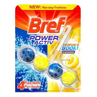 Viên khử mùi toilet Bref Lemon 50g
