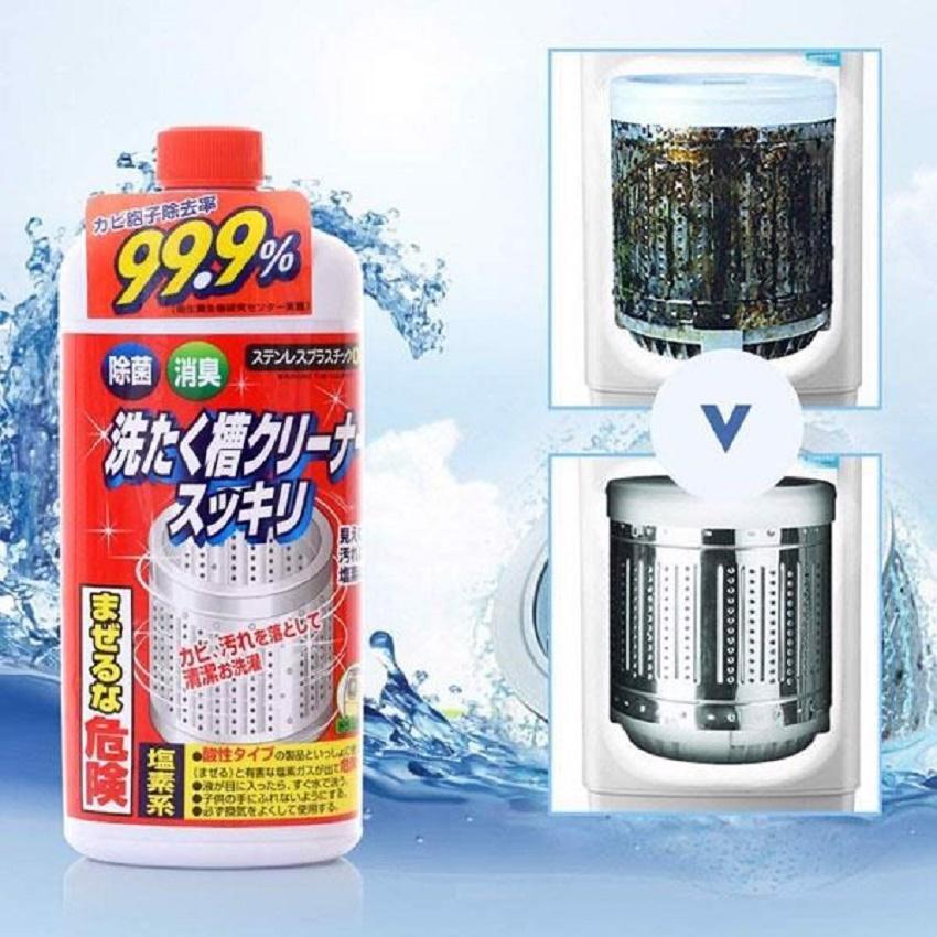 Nước tẩy vệ sinh lồng giặc ROCKET Nhât Bản - 550g