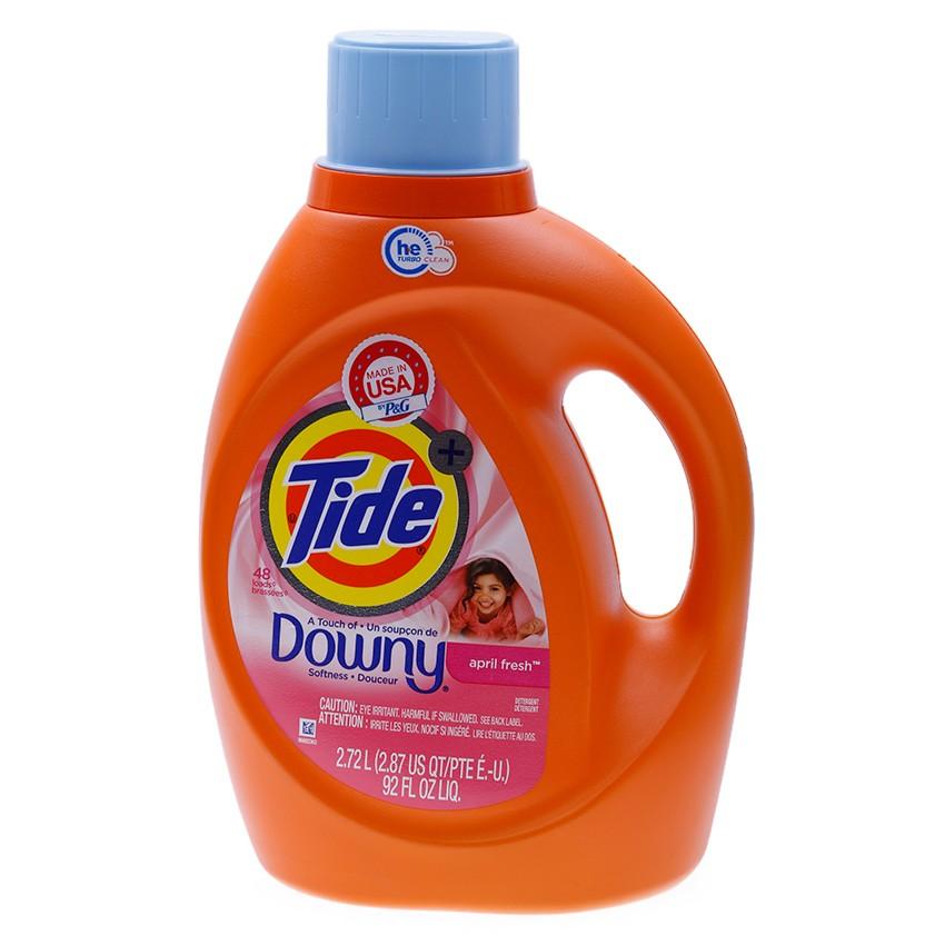 Nước giặt Tide hương Downy H.E April Fresh 2.72L