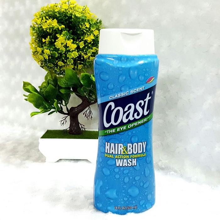 Sữa tắm gội Coast Classic Scent 532 ml