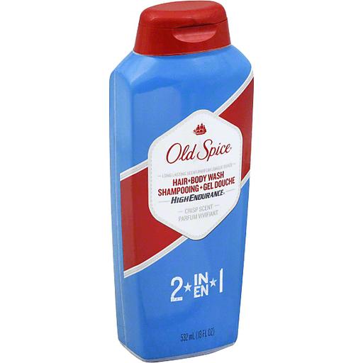 Sữa tắm - gội Old Spice Body wash 2IN1 High Endurance