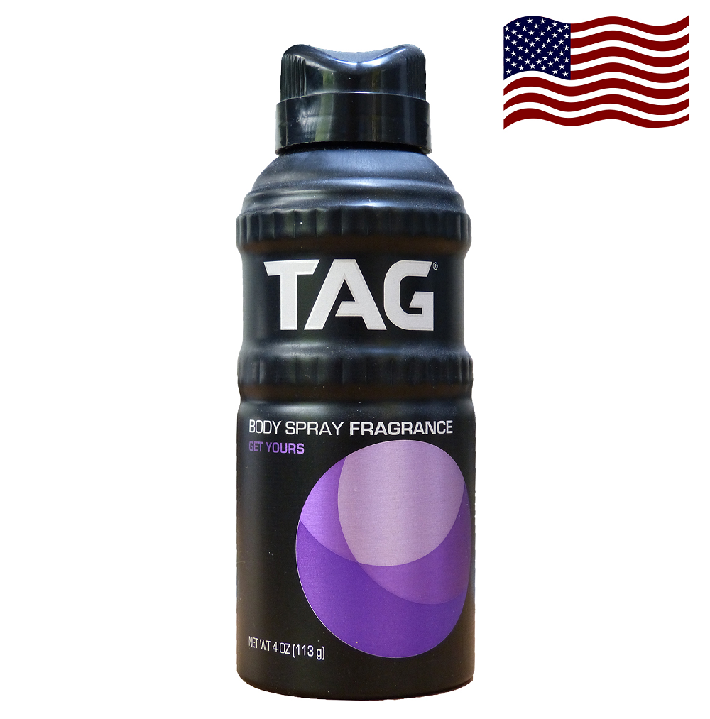TAG Body Spray, Get Yours 113g