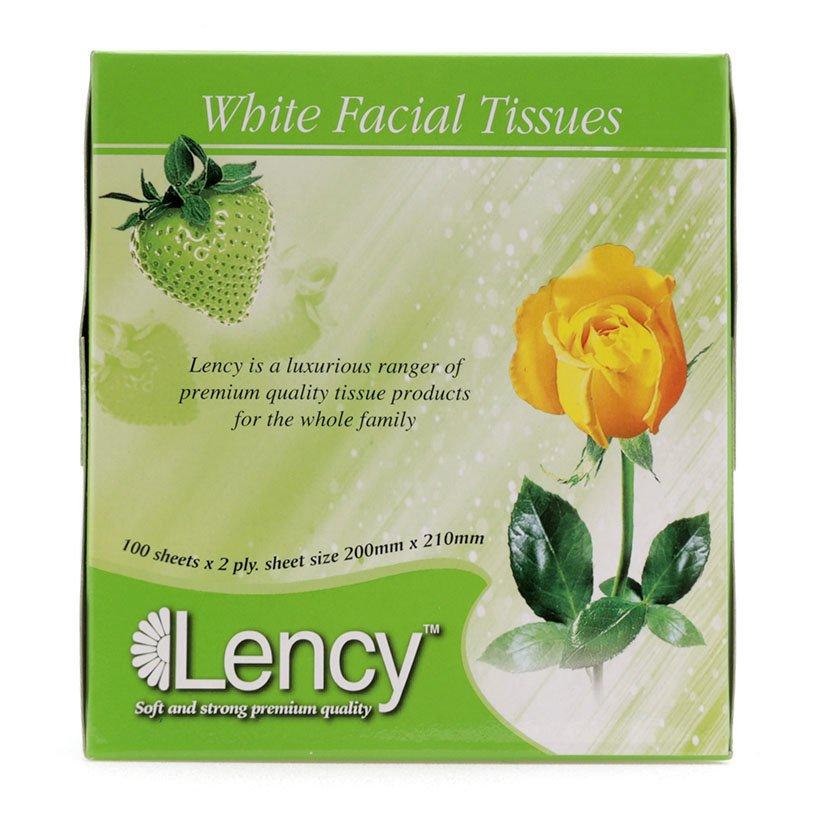 Khăn giấy hộp Lency 100 tờ