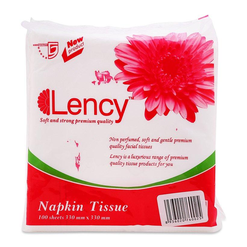 Khăn giấy lụa Napkin 100 tờ (33*33cm)