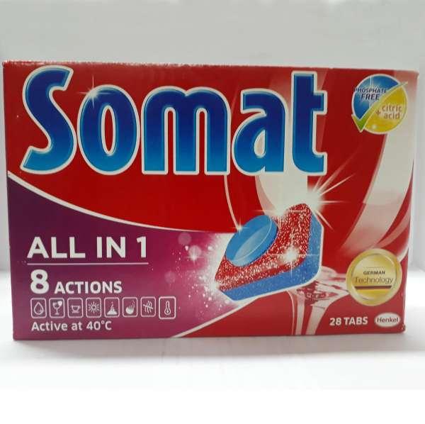 Viên rửa ly Somat5 532g