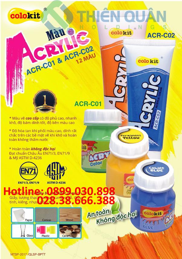 Màu Acrylic ACR-C02