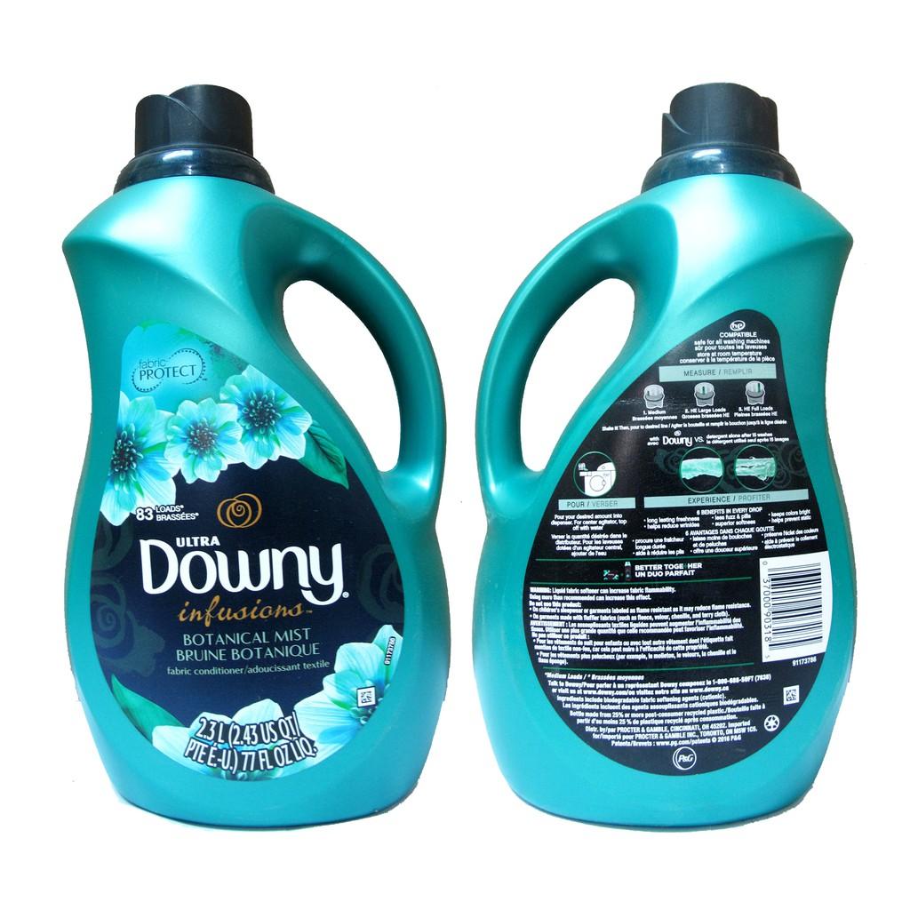 Nước xả vải Downy U.Infusion Botanical Mist 2,3L