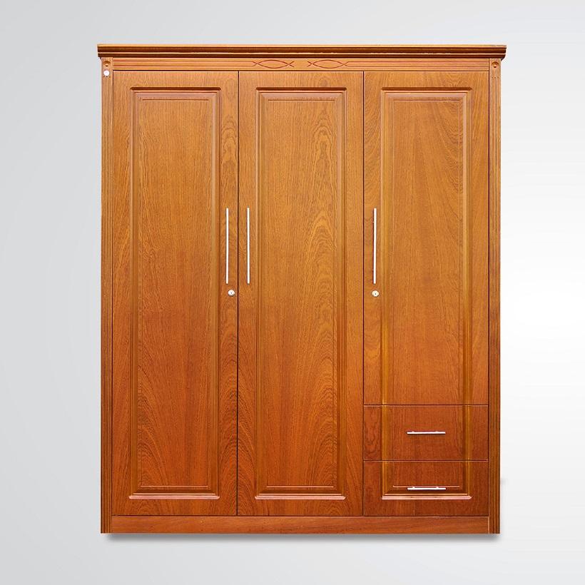 Tủ quần áo Veneer Hưng Phát - Mã ATG-T-002-XD