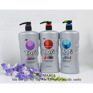 TAG Hair & Body Wash 3-In-1 Step Out 946ml