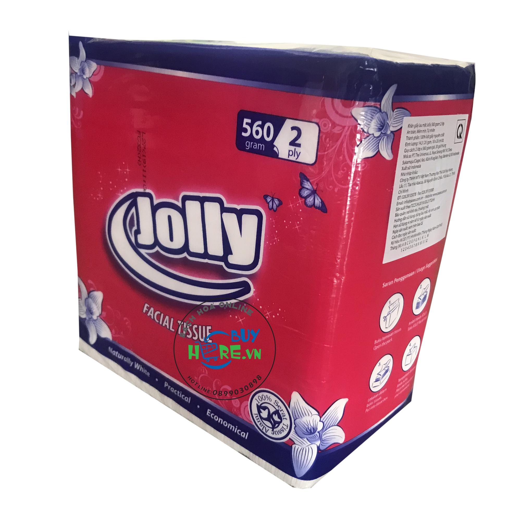Khăn giấy jolly 560gram 2 lớp