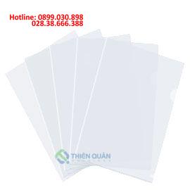Bìa lá A4 trắng dày- 0.2 mm PLUS