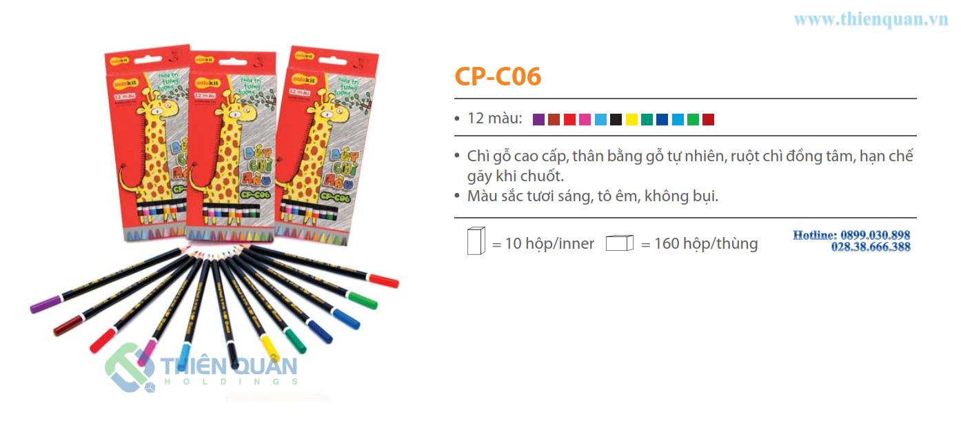 Bút chì 12 màu CP-C06