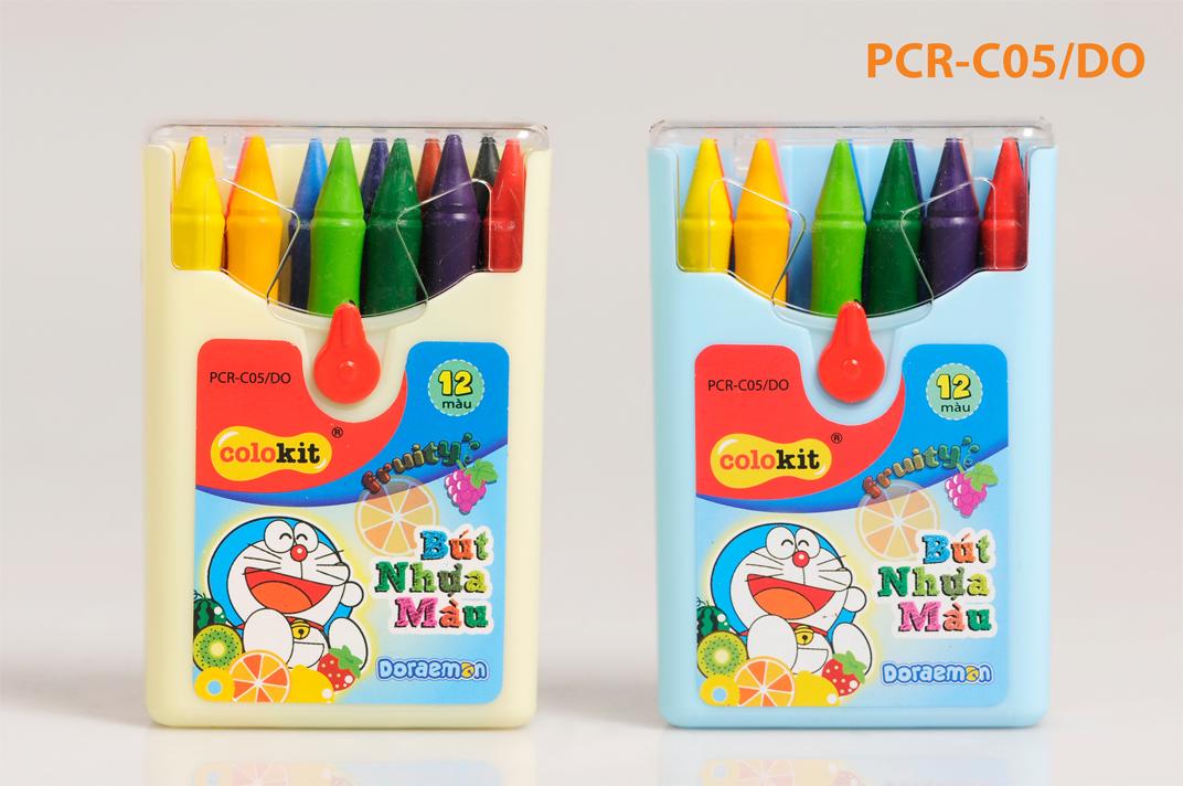 Bút nhựa màu PCR-C05/DO hộp 12