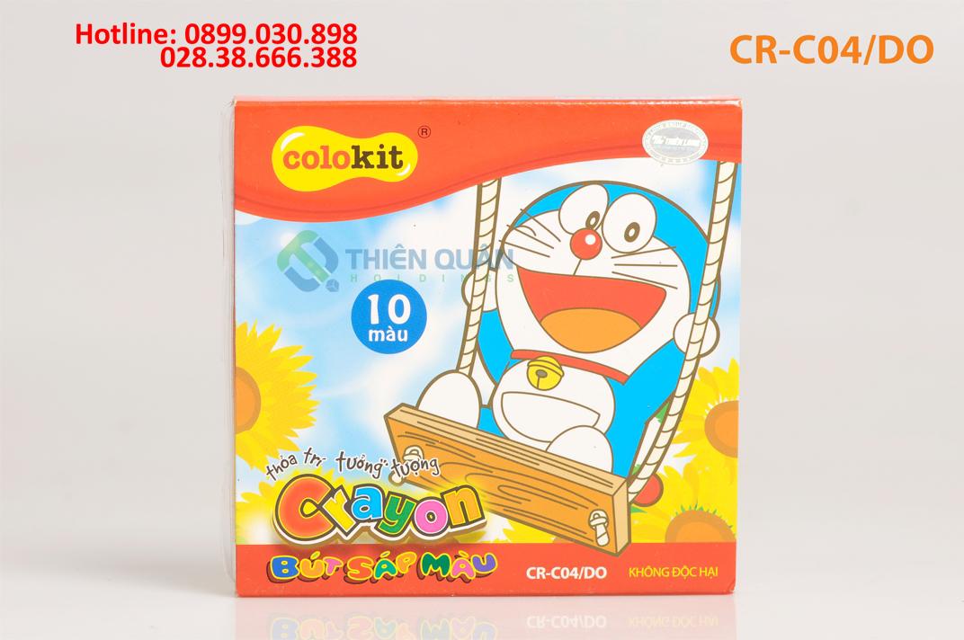 Sáp màu CR-C04/DO (10 màu)
