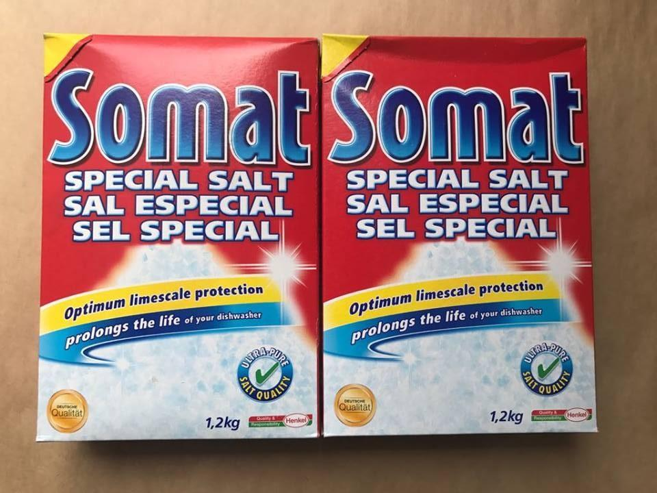 Muối rửa ly Somat Special Salt 1,2 Kg
