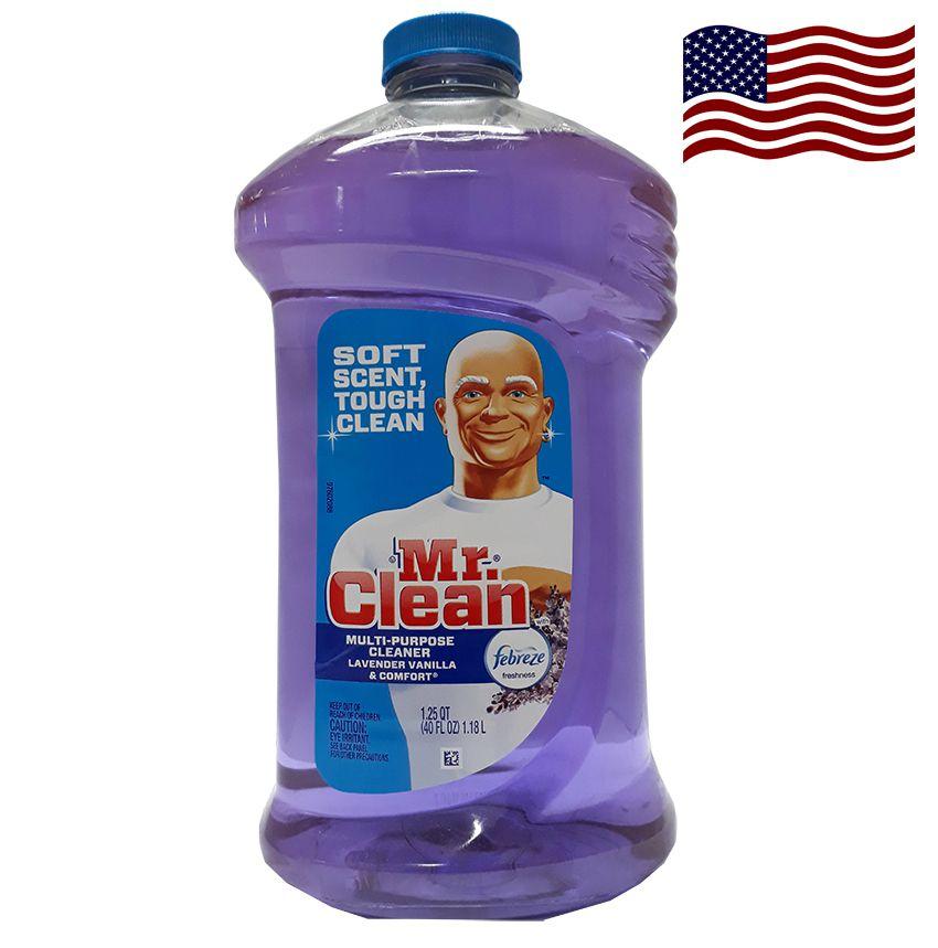 Nước lau chùi Mr.Clean Lavender Vanilla &Comfort 1,18 L