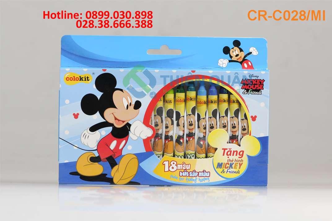 Sáp màu CR-C028/MI (18 Màu)_Disney