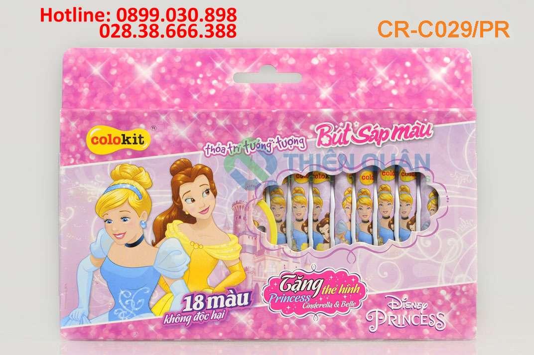 Sáp màu CR-C029/PR (18 Màu)_Disney