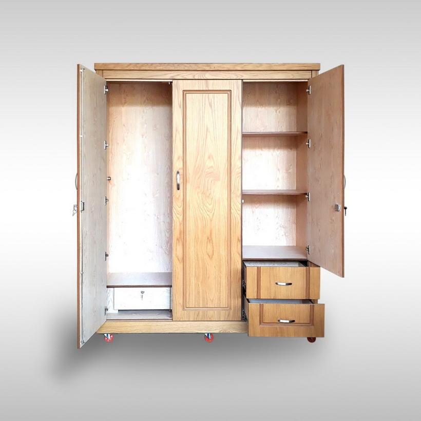 Tủ quần áo Veneer Hưng Phát - Mã HPF-T-008-S