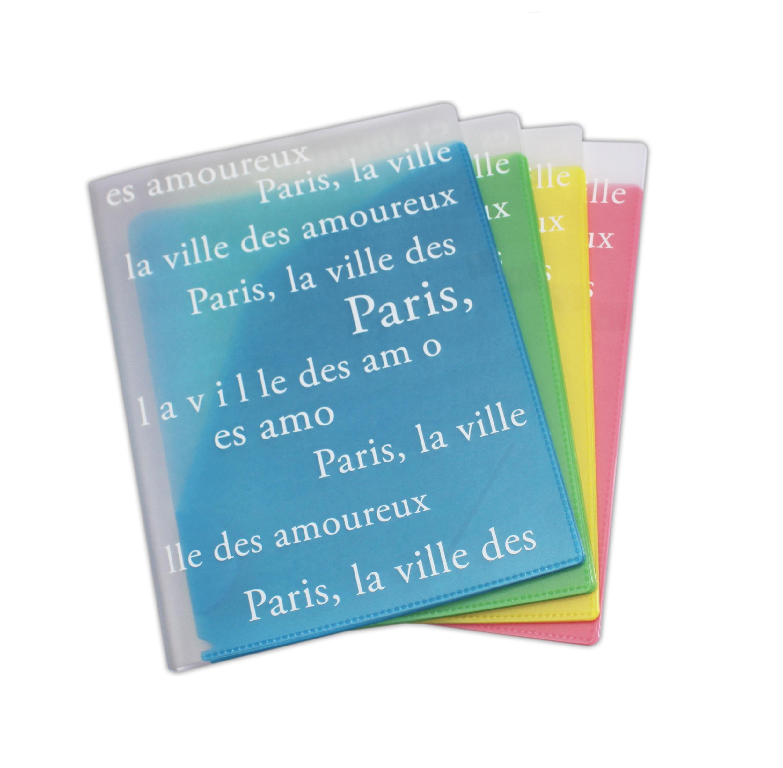 Bìa Hồ Sơ Nhiều Ngăn - Thiết Kế Kiểu Paris