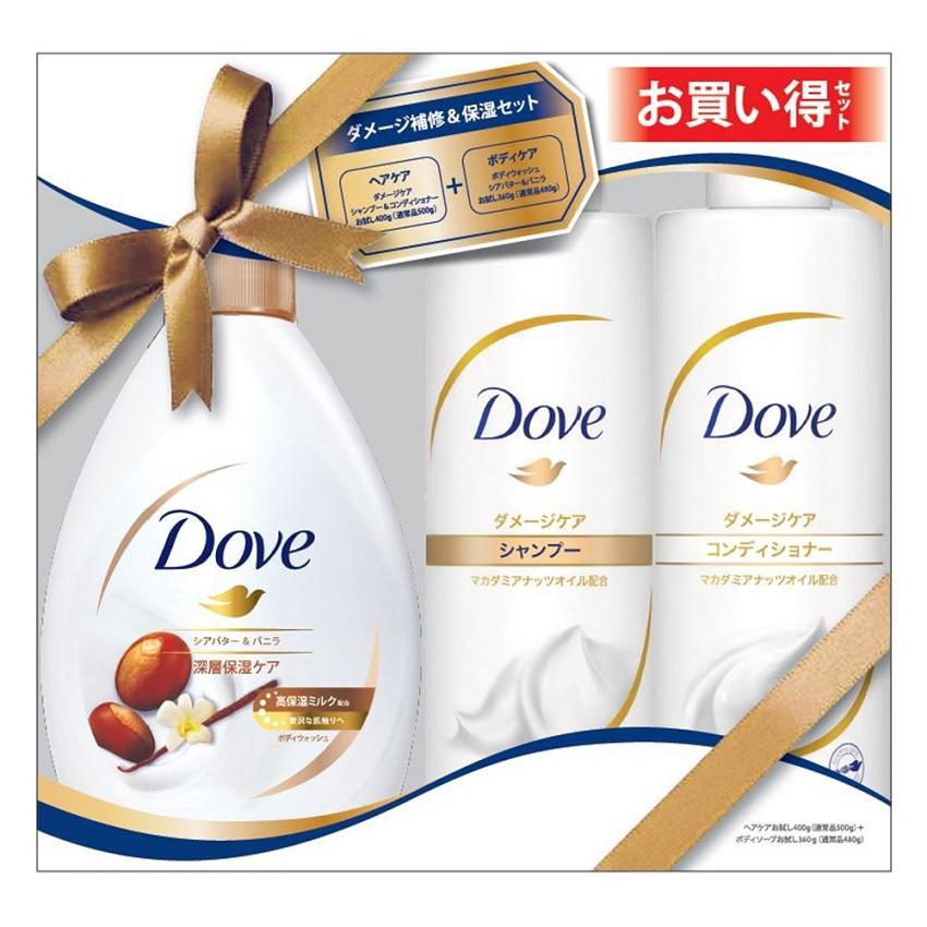 Bộ tắm gội xả DOVE Nhật Bản