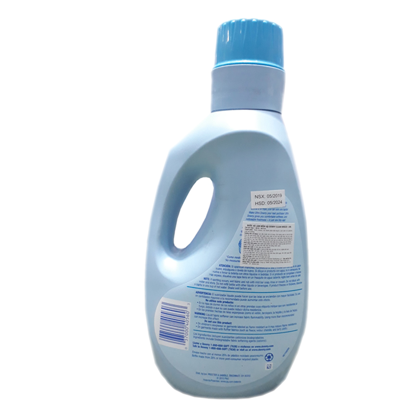 Nước xả Downy U.Infusion Clean Breeze  1,89 L
