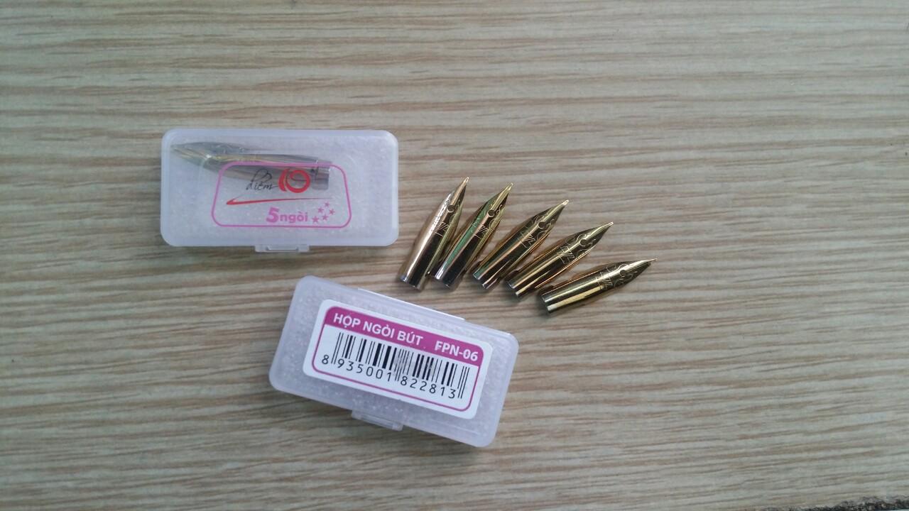 Ngòi bút máy FPN-06 hộp 5 ngòi