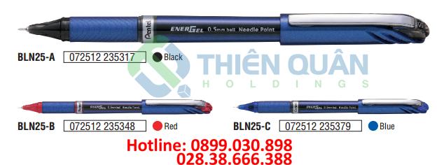 ENERGEL - Bút bi Gel nắp đậy 0.5mm