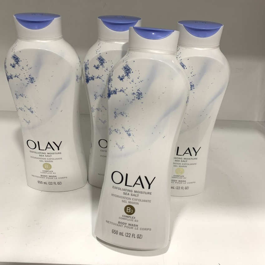 Sữa tắm Olay Daily Exfoliating With Sea Salts 650ml