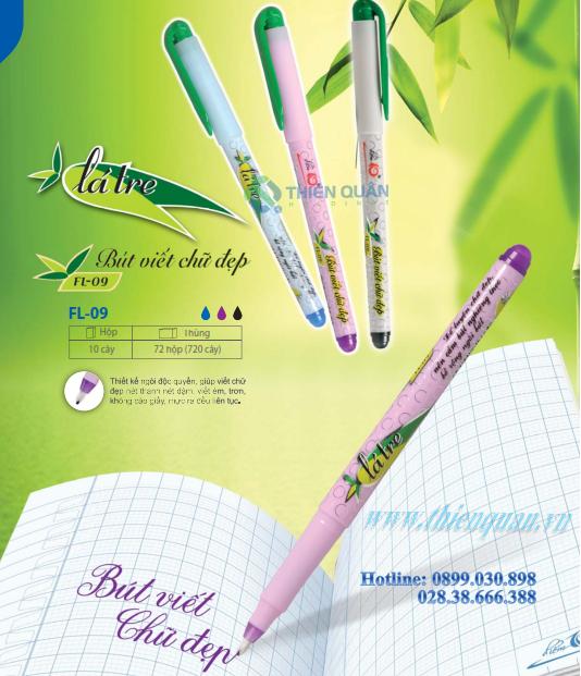 Bút lông kim FL-09 Lá Tre