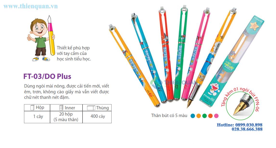 Bút máy FT03/DO Plus kèm hộp mực xanh