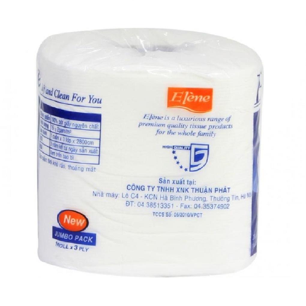 Giấy vệ sinh Elene 6 cuộn 3 lớp