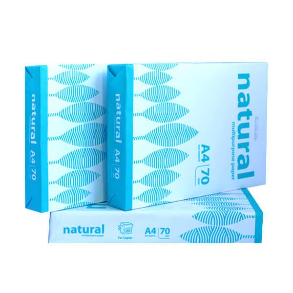 Giấy Natural 70gsm – A4 (Indo)