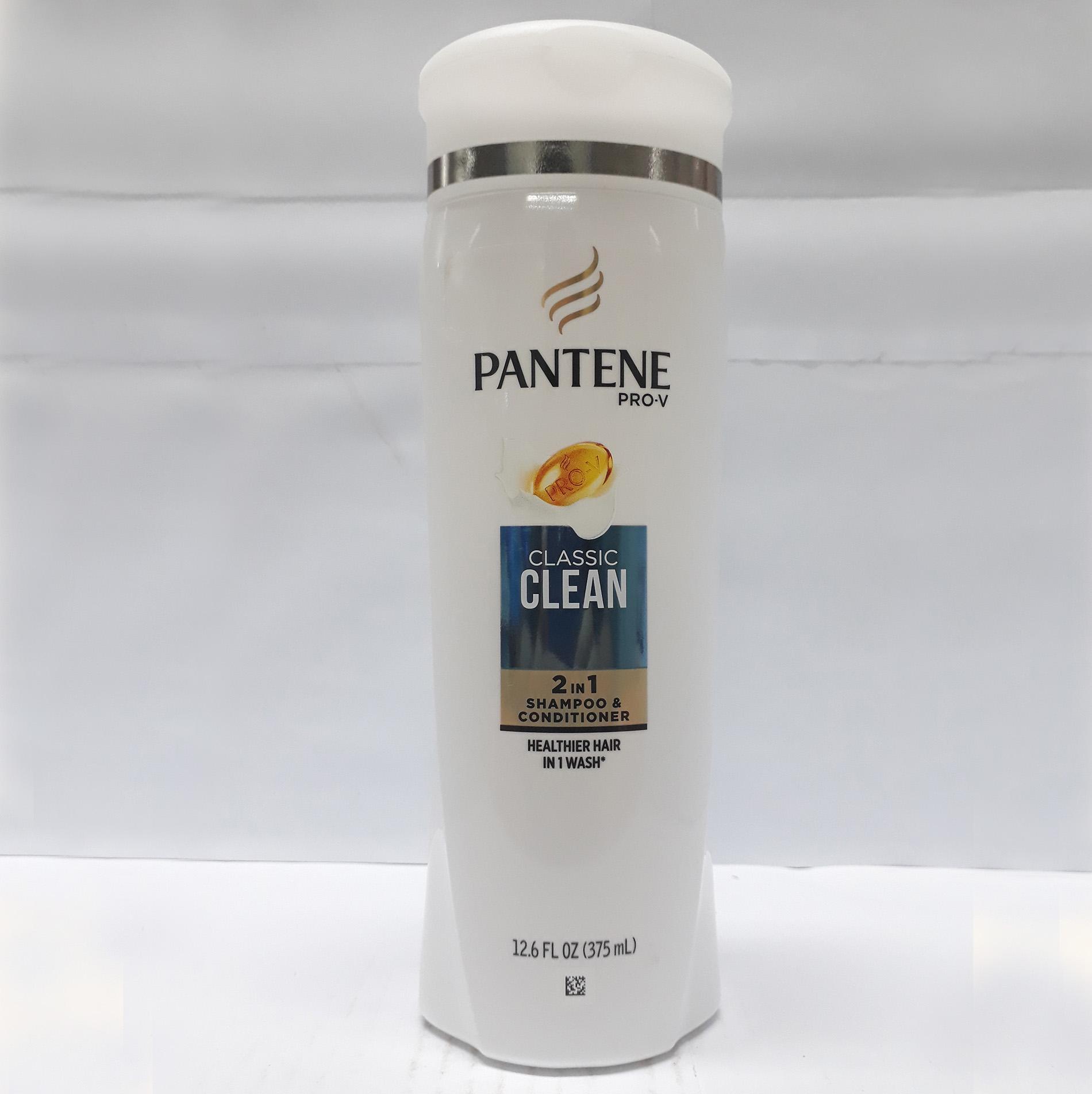 Dầu gội Pantene Clacssic Clean 2in1 375ml