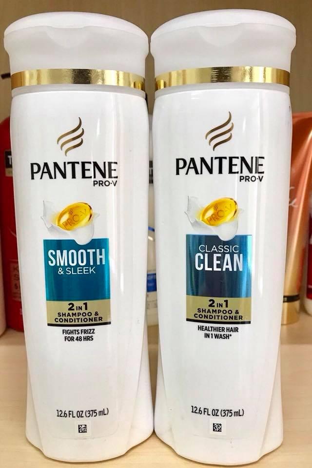Dầu Gội Pantene Smooth & Sleek 2in1 375ml
