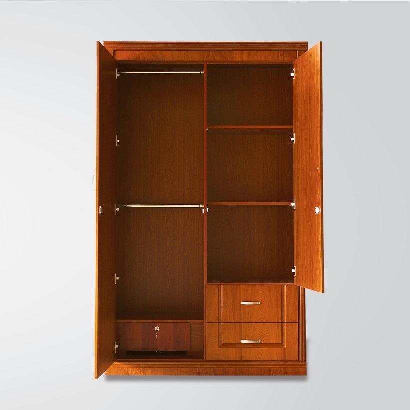 Tủ áo gỗ Veneer Hưng Phát - Mã ATG-T-010-XD
