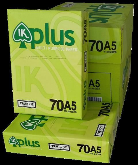 Giấy in Ik Plus A5 70 gsm