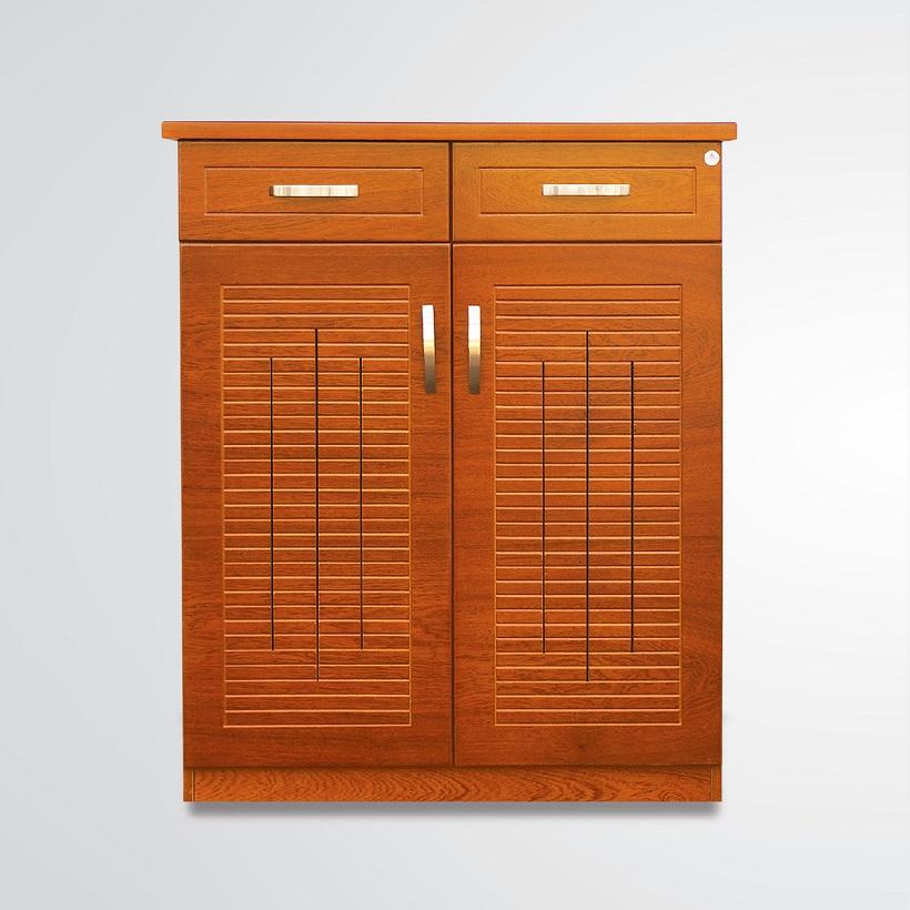 Tủ giày gỗ Veneer Hưng Phát HPF-TG-001-XD