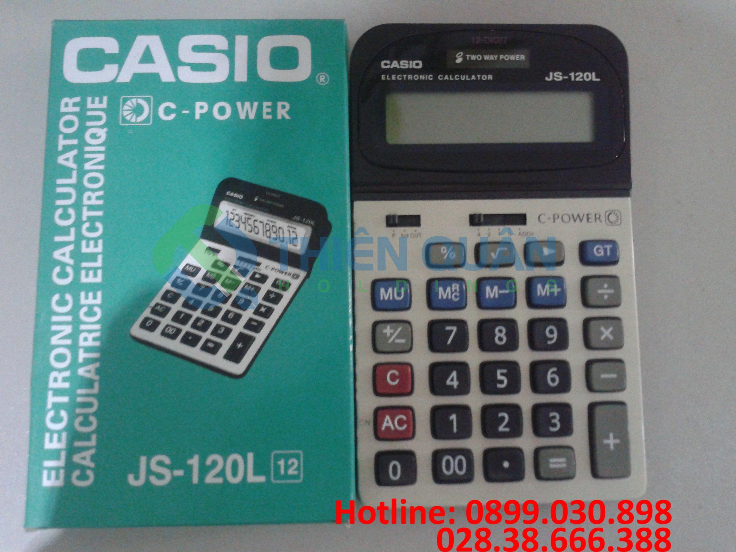Máy tính Casio JS 120L - 12 số
