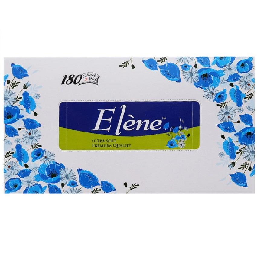 Khăn giấy hộp Elène 180 tờ