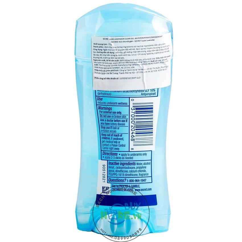 Gel Khử mùi Secret Protecting Powder 73g
