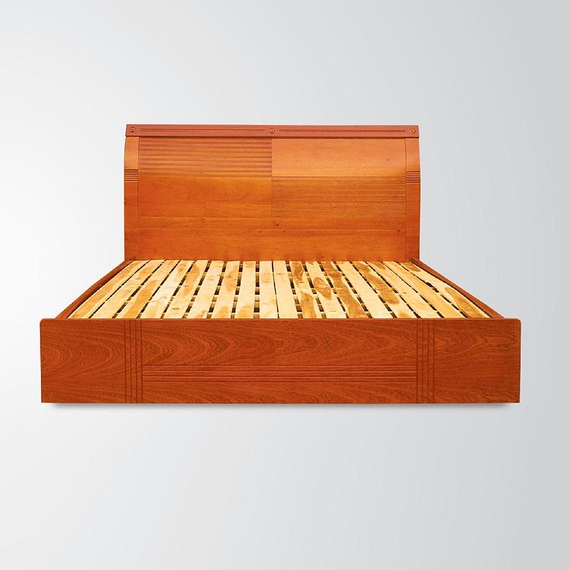 Giường ngủ Gỗ Veneer Hưng Phát - Mã HPF-G-003-XD